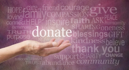 Donate Word Wall